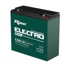 Аккумулятор RDrive ELECTRO VELO 6-DZF-20 (6-DZM-20)